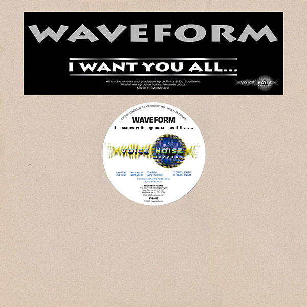 Waveform - I want you all...